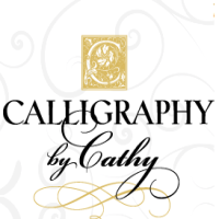 Calligraphy by Cathy Volpe in NY