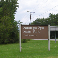 Saratoga Spa State Park in NY New York Sightseeing