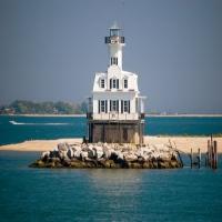 long beach bar lighthouse lighthouses in ny