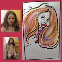 Caricature Artist Alison Gelbman Top New York Party Entertainers