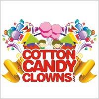 Cotton Candy Clowns Inflatable Bounce House Rentals in New York