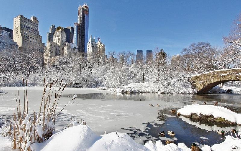 winter getaways in ny